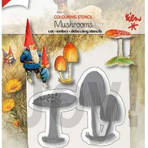 Joy! crafts dies - mushrooms 1402