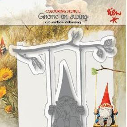 Joy! crafts dies - gnome on swing