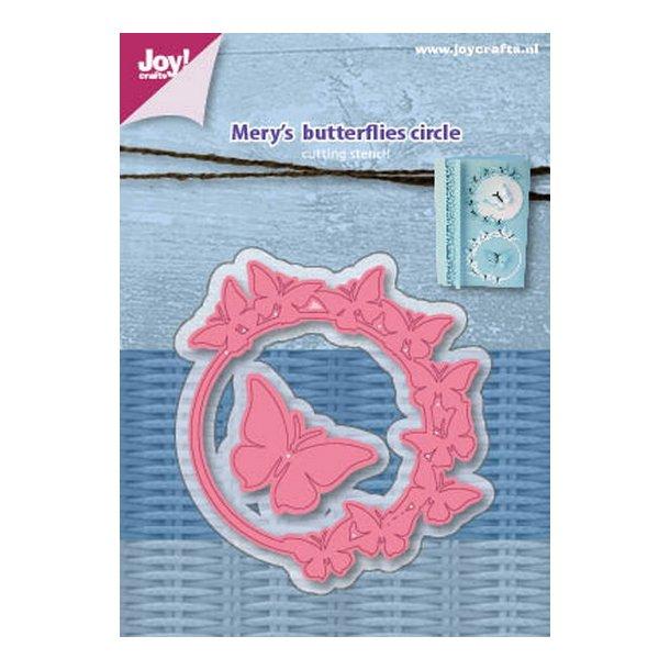 Joy! crafts Dies - Mery's Butterfly circle 6002/1075