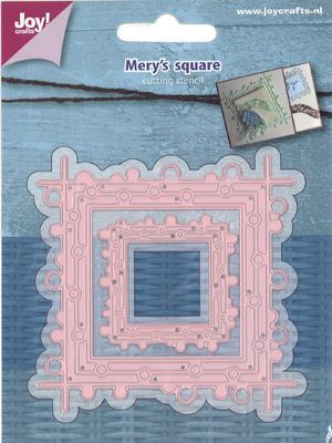 Joy! crafts Dies - Mery's square 6002/1116