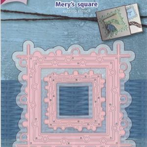 Joy! crafts Dies - Mery's square 6002/1116