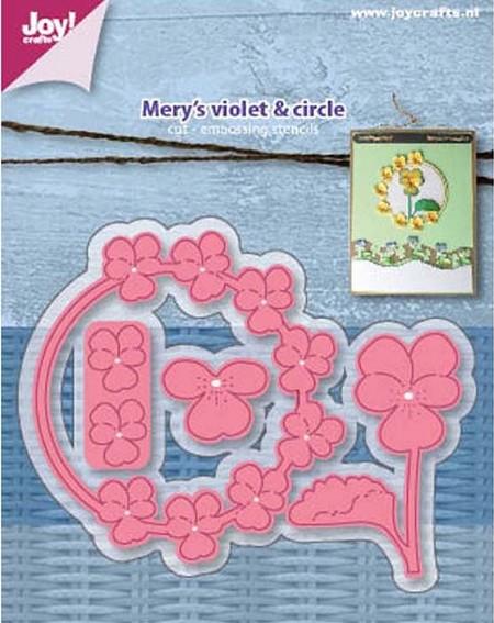 Joy! crafts Dies - Mery's violet 6002/1116