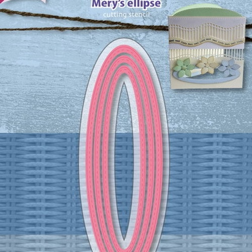 Joy! crafts Dies - Mery's ellipse 6002/1118