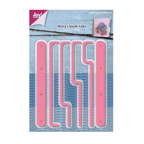Joy! crafts Dies - Mery's book-tabs 6002/1161