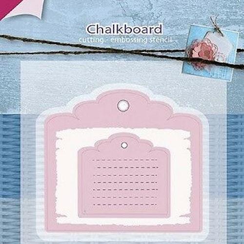 Joy! crafts Dies - Mery's  chalkboard 6002/0594