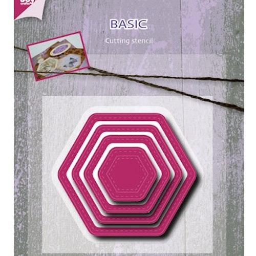 Joy! crafts Dies - Basic hexagon 6002/0488