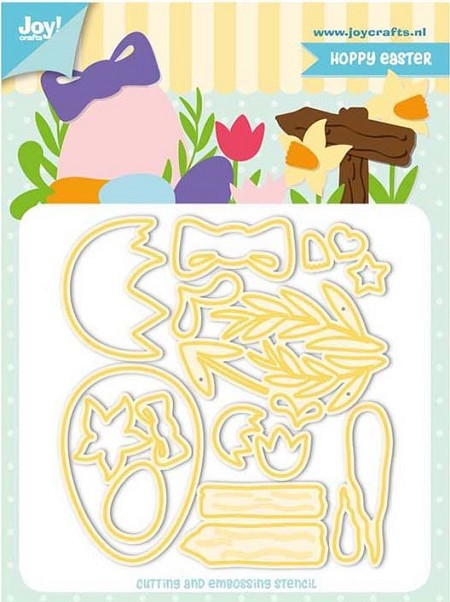 Joy! crafts Dies - Hoppy easter 6002/1272