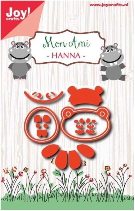 Joy! crafts Dies - Hanna 6002/1039