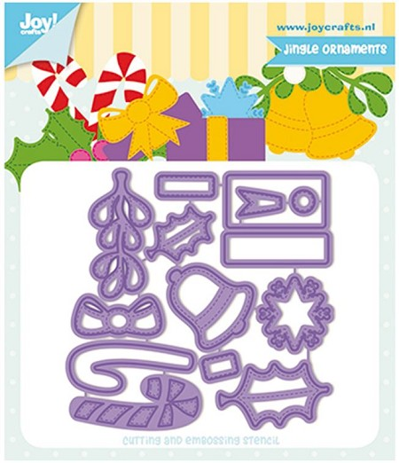 Joy! crafts Dies - Jingle ornament 6002/1330