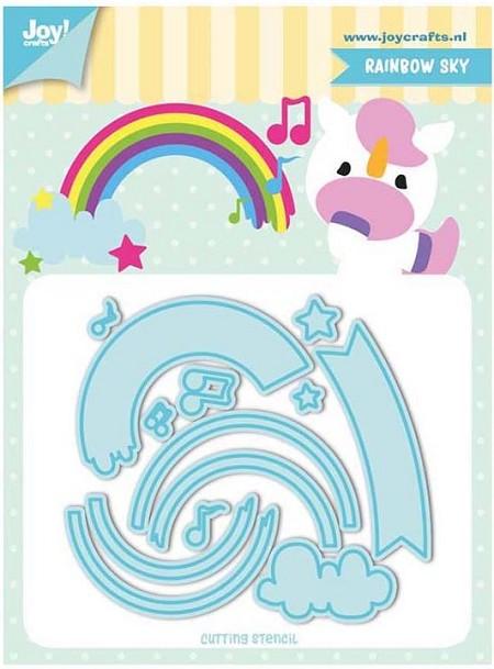 Joy! crafts Dies - Rainbow sky 6002/1195
