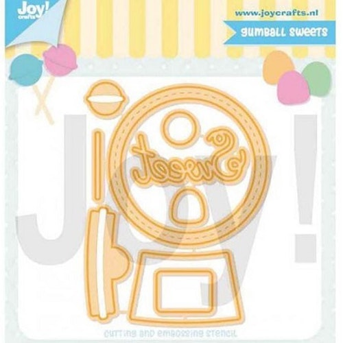 Joy! crafts Dies - Gumball sweets 6002/1366