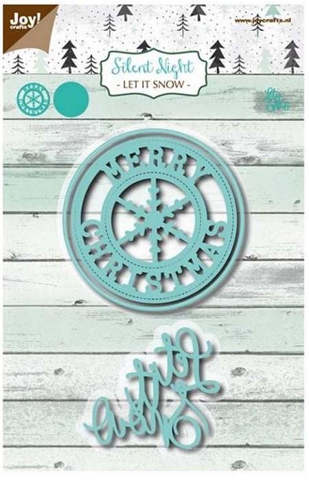 Joy! crafts Die -  Let it snow 6002/1143