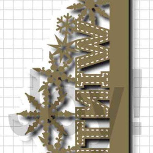 Joy! crafts Die - winter border 6002/1333
