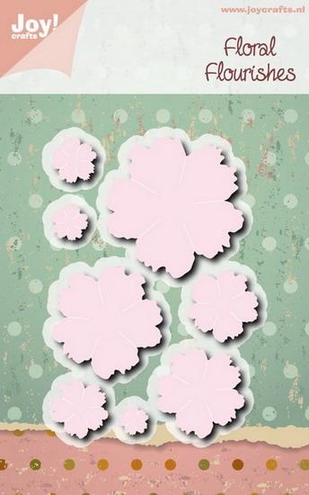 Joy! crafts Die -floral flourisher 6002/1081
