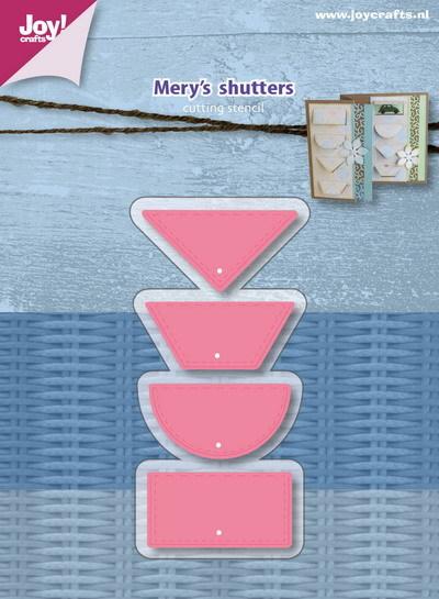 Joy! crafts Dies - Mery's  shutters 6002/1077