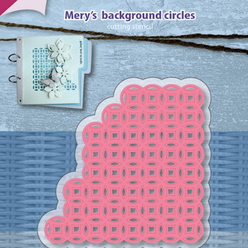 Joy! crafts Dies - Mery's background circles &002/1158