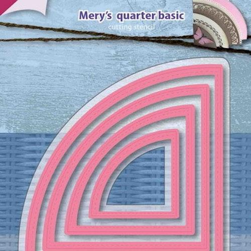 Joy! crafts Dies - Mery's quarter basic 6002/1159