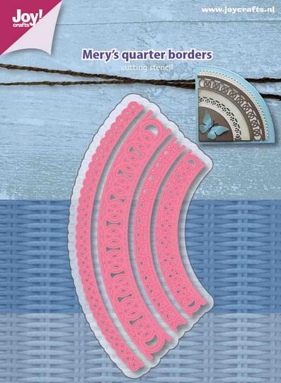 Joy! crafts Dies - Mery's quarter borders 6002/1160