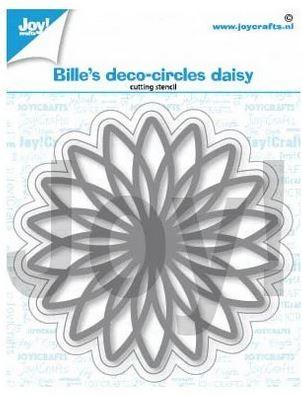 Joy! crafts Dies - deco circles daisy 6002/1401