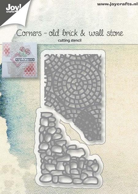 Joy! crafts Die - Old brick & wall stone 6002/1030