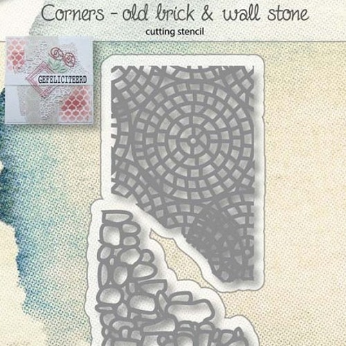 Joy! crafts Die - Old brick & wall stone 6002/1030