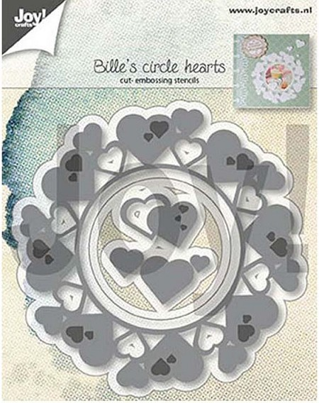Joy! crafts Die - Circle hearts 6002/1313
