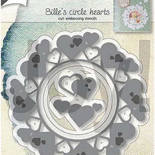 Joy! crafts Die - Circle hearts 6002/1313