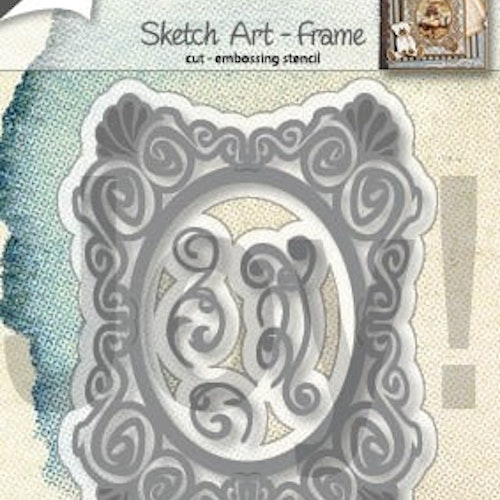 Joy! crafts Die - sketch art frame 6002/1292