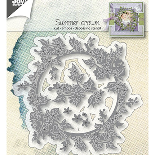 Joy! crafts Die - summer crown 6002/1298