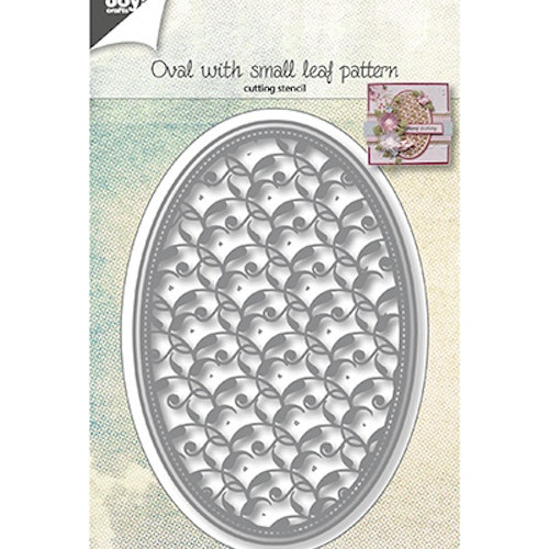 Joy! crafts Die - oval with small leaf pattern 6002/1073