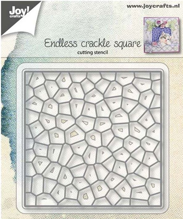 Joy! crafts Die - crackle square 6002/1153