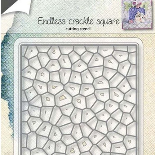 Joy! crafts Die - crackle square 6002/1153