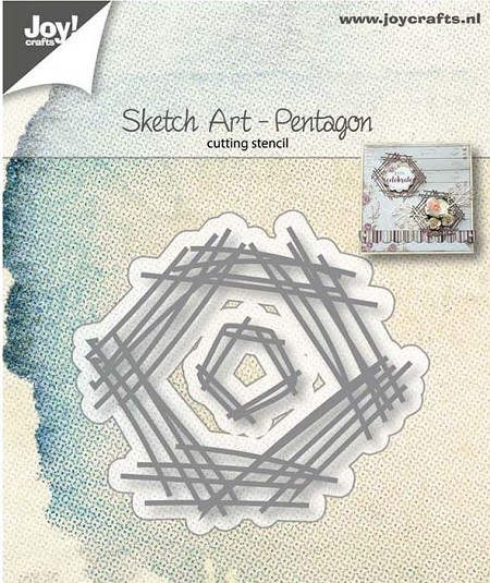Joy! crafts Die - Sketch art pentagon 6002/1245