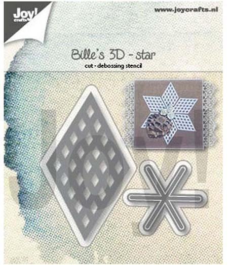 Joy! crafts Die - Billies 3D star 6002/1391