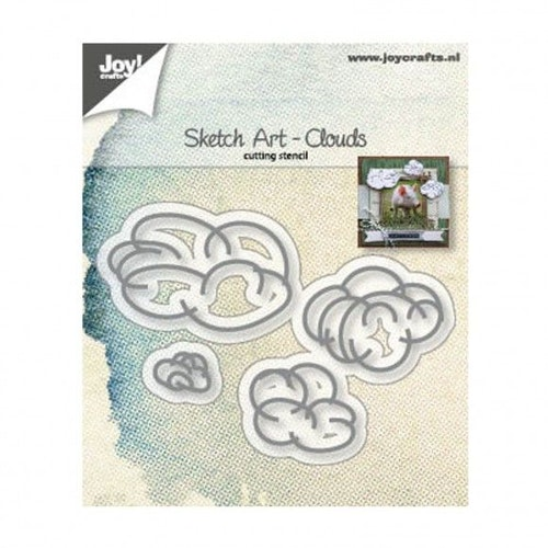 Joy! crafts Die - Clouds 6002/1244