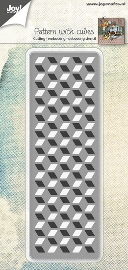 Joy! crafts Die - Pattern with cubes 6002/0963