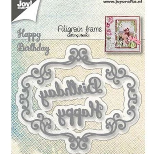 Joy! crafts Die - Filigrain frame 6002/1283