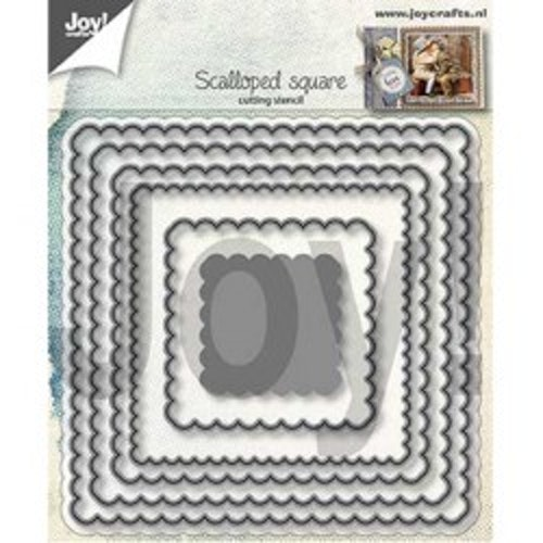 Joy! crafts Die - scalloped square 6002/1301