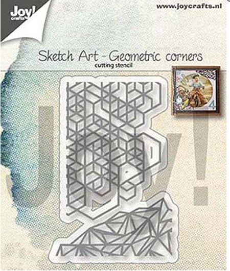 Joy! crafts Die - geometric corners 6002/1311