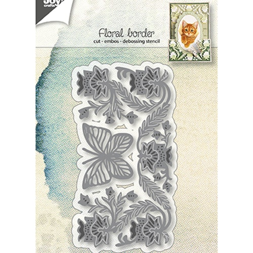 Joy! crafts Die - floral border 6002/1269