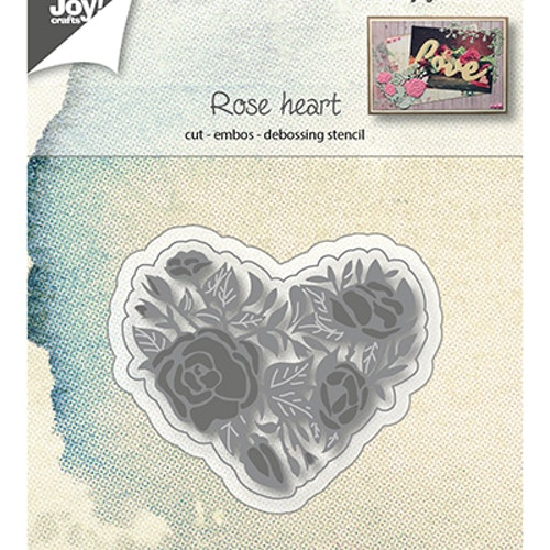 Joy! crafts Die - rose heart 6002/1125