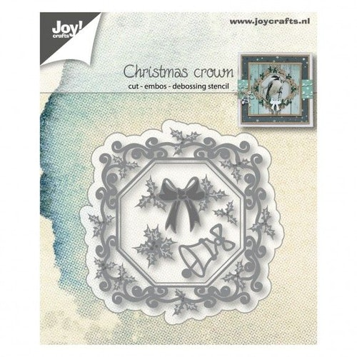 Joy! crafts Die - Christmas crown 6002/1340
