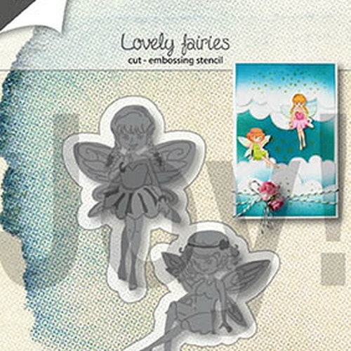 Joy! crafts Die - Lovely fairies 6002/1306