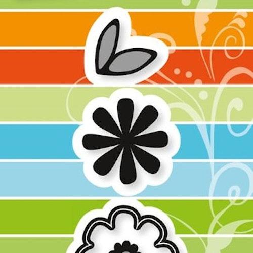 Marianne Design Die - funky flower CR1358