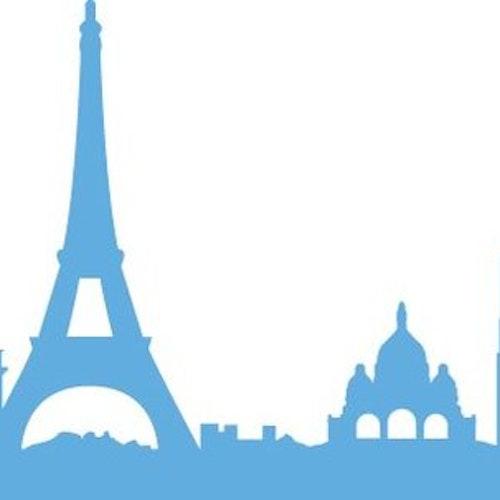 Marianne Design Die - Paris border CR0368