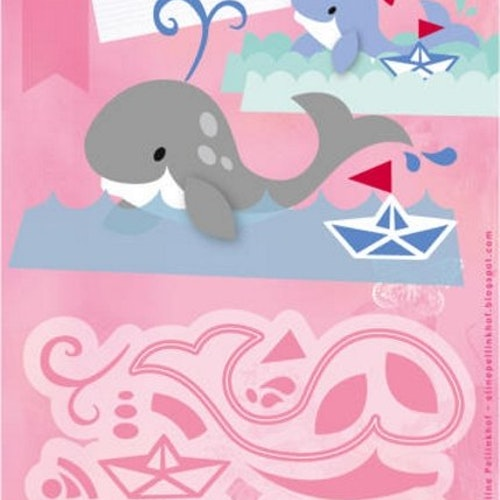 Marianne Design Dies - Whale COL1430