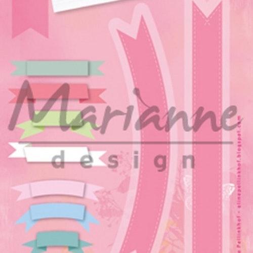 Marianne Design Dies - Banners COL1398