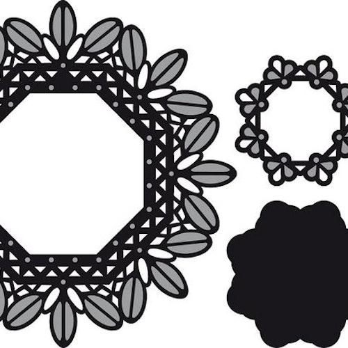 Marianne Design Dies - Country garden CR1261