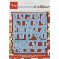 Marianne Design Dies - Alphabet garland CR0340