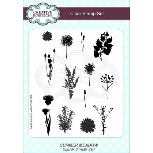 Creative Expressions Clear Stamp set - Summer meadow